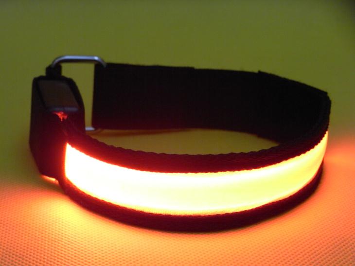 led light flashing armband safety armband arm band outdoor snap wrap arm band shine armband. Black Bedroom Furniture Sets. Home Design Ideas