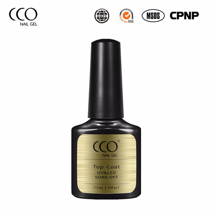 CCO More Eco-friendly Top Coat Nail Polish Look More Natural And Glossy High Cost Performance Top Coat Gel