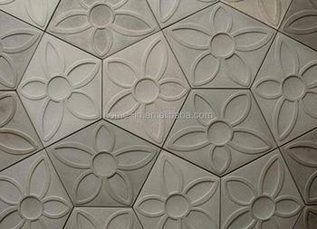 Matt finito struttura del fiore piastrelle di cemento buy