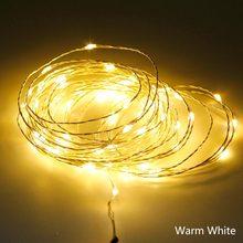 Светодиодный светильник ANBLUB, медный, серебристый, 5 м, 10 м(Китай)