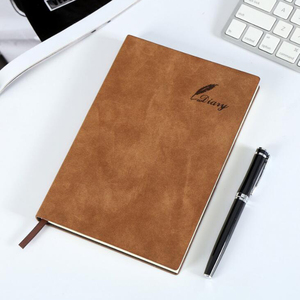Luxury Custom Recycled Hardcover A5 PU Leather Notebook Journal