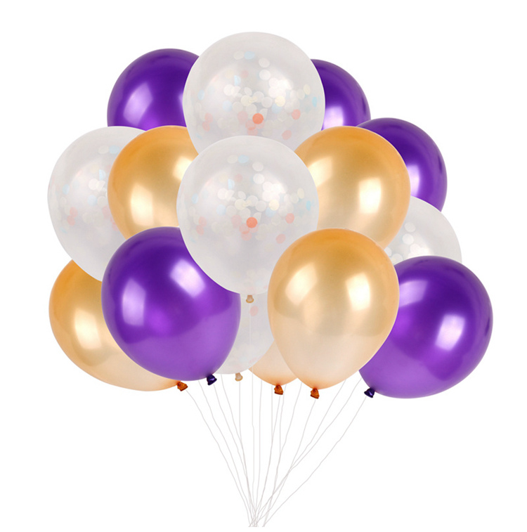 Happy First Birthday Decoration Mixed Latex Balloons 1st Party Decorations Kids I AM ONE Year