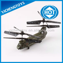 3.5 channel mini transport IR helicopter toy army helicopter