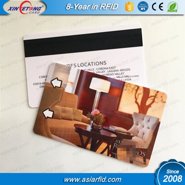 Aangepaste Glossy Mat of Frosted oppervlak afwerking cardHF NFC 216 Chip Card 13.56 MHz Printable RFID F08 Leeg hotel key kaart