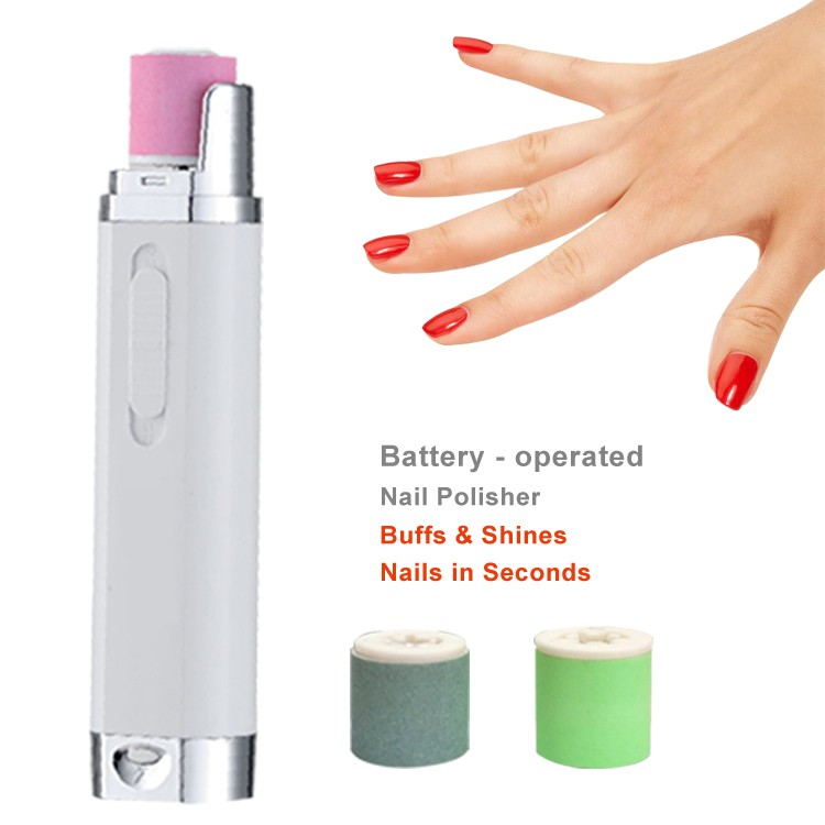 Luxury Battery Operated Nail File Adornment - Nail Paint Design ...