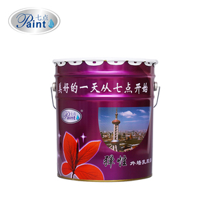 Elastic brushed outdoor emulsion paint for sale