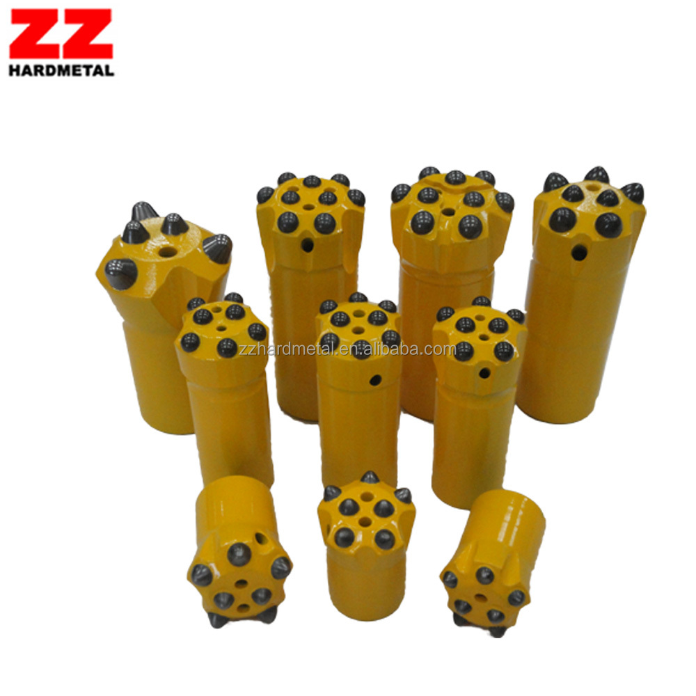 34mm,36mm,38mm button tapered rock drill bit