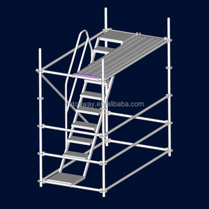 galvanized Ringlock Scaffolding step steel Ladders and Stairs