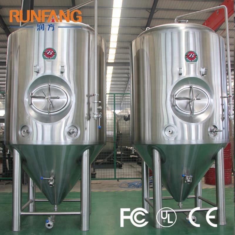 शिल्प बियर Fermenting उपकरण बियर किण्वन टैंक शंक्वाकार बियर किण्वकों के लिए बिक्री