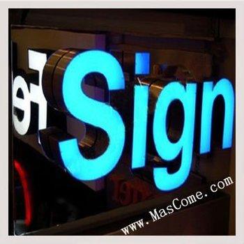 Frontlit Led Sign Board Outdoor Waterproof Led Light Sign
