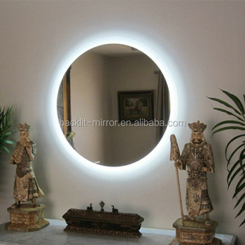 Bathroom Mirrors Lights Behind backlit bathroom mirror led lighting behind - buy bathroom mirror