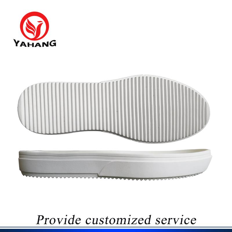 White Sneaker Shoe Sole Rubber Outsole