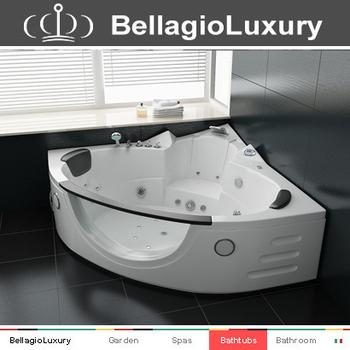 corner hot tub spa. TUV Approved Massage Spa Bathtub  Corner Hot Tub Whirlpool Glass Front Tuv Massage Bathtub Hot Tub Whirlpool Glass