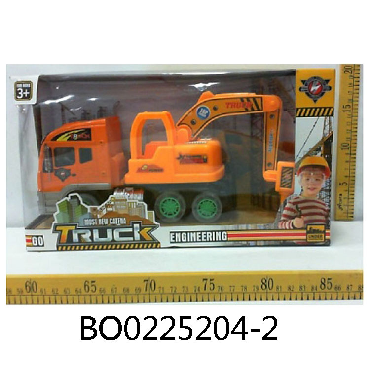 Kids toy electric construction truck mounted drilling rig machine BO0225204-2