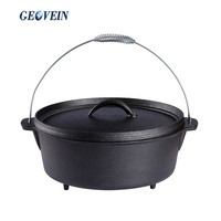 Wholesale Campfire 2 Quart Dutch Oven 4.5 Quart Cast Iron Camp Oven