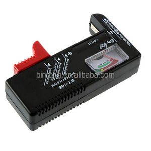 Universal Button Cell Battery Volt Tester Checker for AA AAA C D 9V 1.5V Button Cell Batteries
