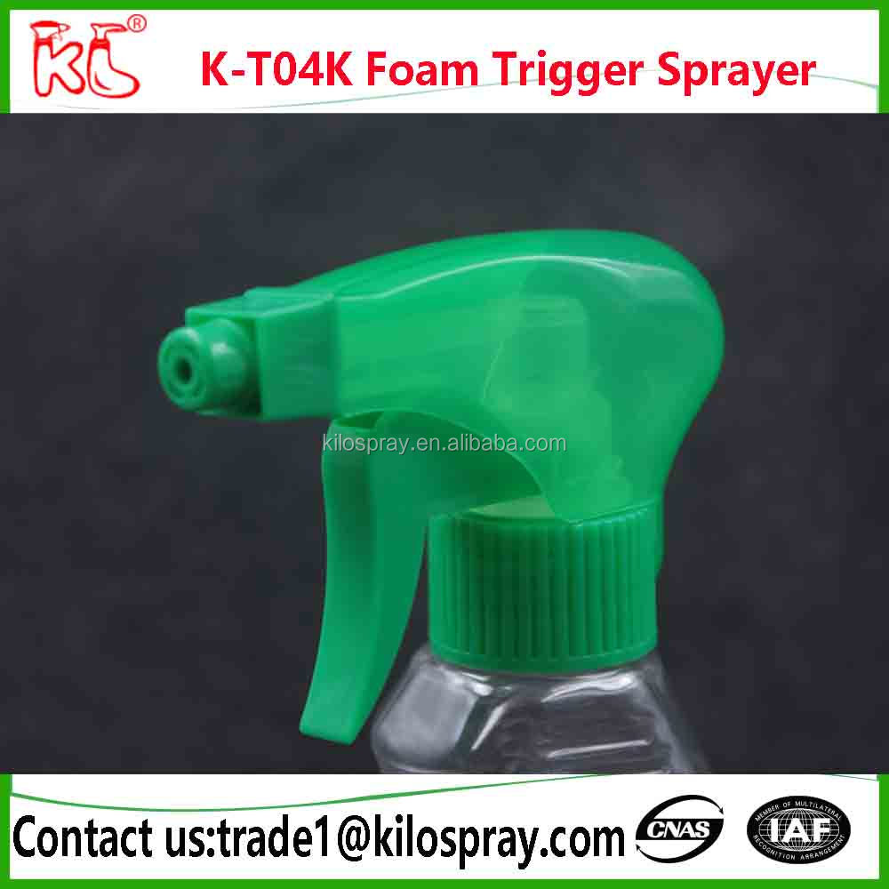 plastic triger sprayer,foam mist stream nozzle sprayer