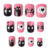 Wholesale long gel press on nails art full cover acrylic kids press on nails box custom private label 3d press on nails for kids