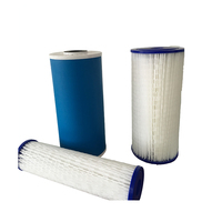 Paper Core swimming pool polyester paper pleated water filter cartridge for water filtration
