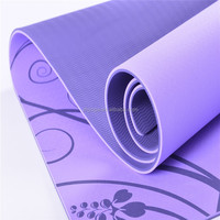 4mm eco friendly tpe yoga mat custom label