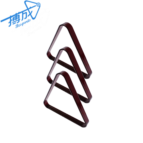 Billiards 8 Ball Triangle Rack Pool Table Equipment for Regulation Size Billiard Balls