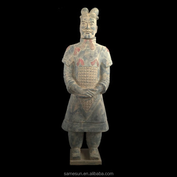Meilun Chinese Terracotta Warriors Hot Sale Manufacturer Collection Garden decoration Life Size Antique Sculpture