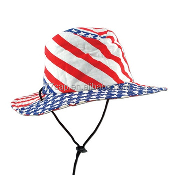 American Flag Bucket Hat With String - Buy Cheap Bucket Hats ... 512a9a42f1a