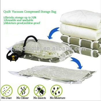 Space Bag Stackable Vacuum Seal Space Saver Tote Jumbo