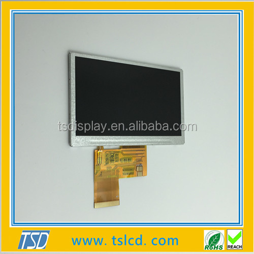 4.3 inch small size TFT LCD model for gaming display
