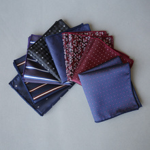 High Quality Men's Silk Pocket Square Handkerchief For Groom's Best Man Actor Performs a Suit