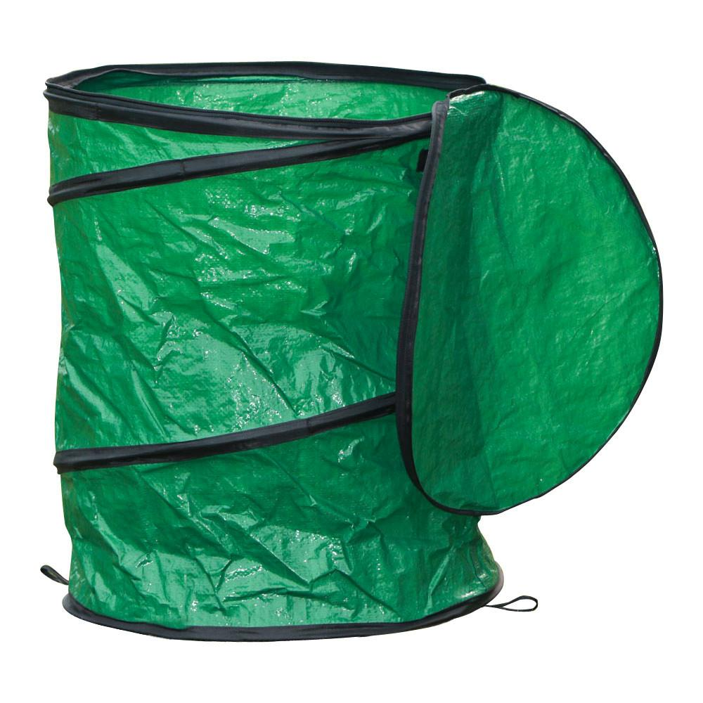 Collapsible Pop-up Camp Trash Can Portable Laundry Basket Outdoor Garbage Can