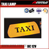 Custom advertisement taxi dome light top light led roof lamp