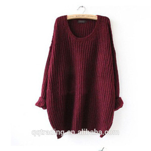 Fashion 4colors pullover knitted beauty oversized women sexy girls xxx china photos crochet patterns mohair sweater
