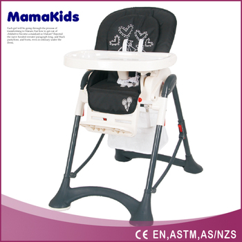 Restaurant Free Baby Swing High Chair For Eat With Wheels