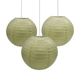 Christmas decoration gold and silver Paper Lamp Covers