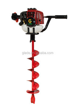 how to use a manual post hole digger