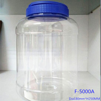 5 Liter Plastic Bottle With Handle Cap 1 Gallon Big Pet