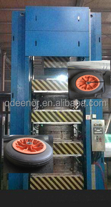 solid tire hydraulic compression molding/forming press machine