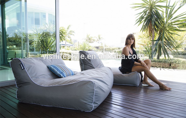 2016 Outdoor Waterproof Bean Bag Floating Bed Swimming Pool Beanbag Chairs