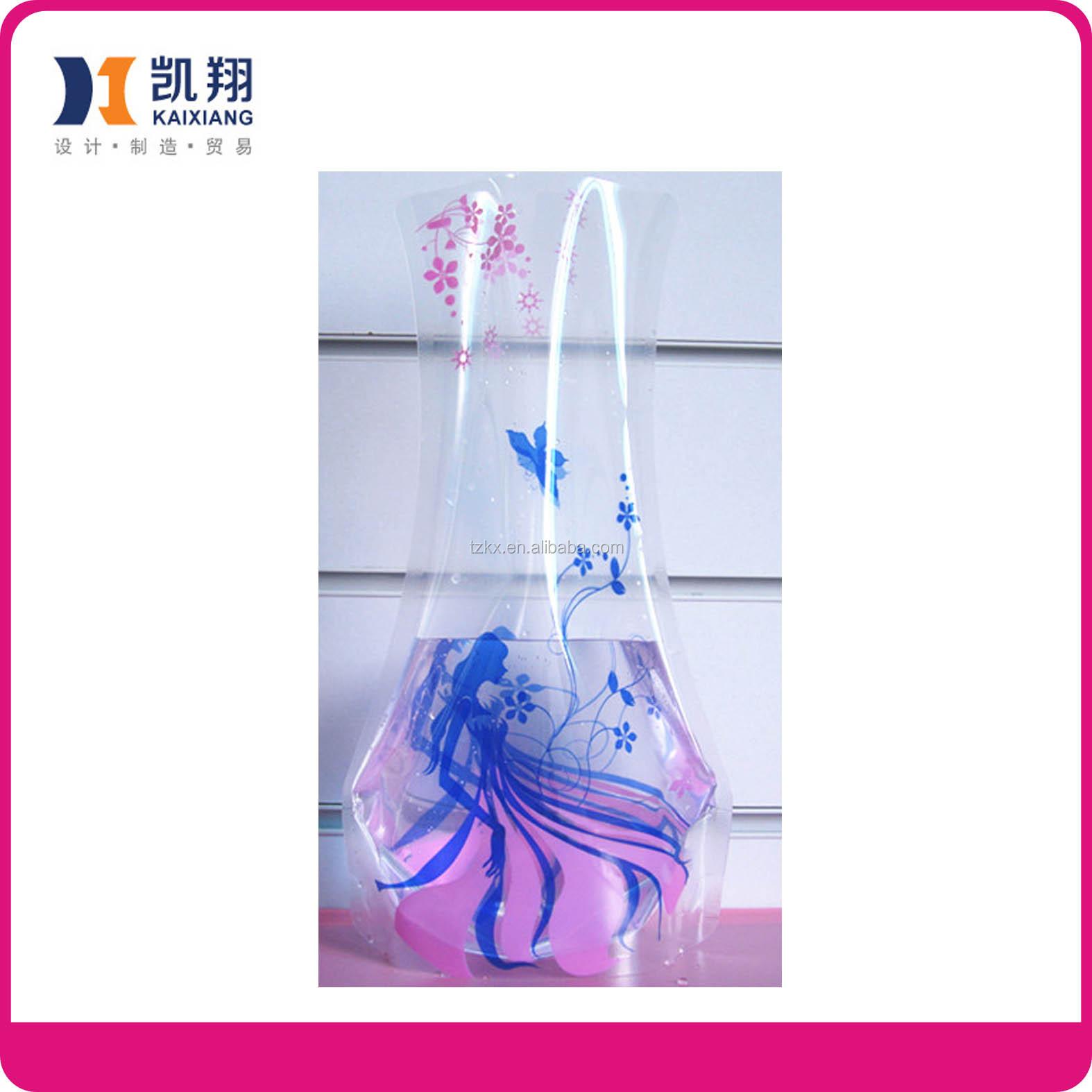 vase de fleurs en plastique jetables pliables en plastique fleur grand vase en plastique fleur. Black Bedroom Furniture Sets. Home Design Ideas