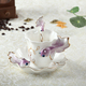 3DTea Cup Porcelain Tea Cup Fish Design Coffee Tea Cup for Home