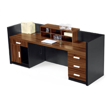 Hot sale reception counter office modern reception desk furniture reception table design