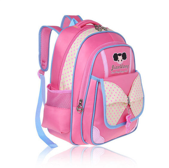 71cc09ac75d Buy girl polka dot backpack children school backpack princess school ...