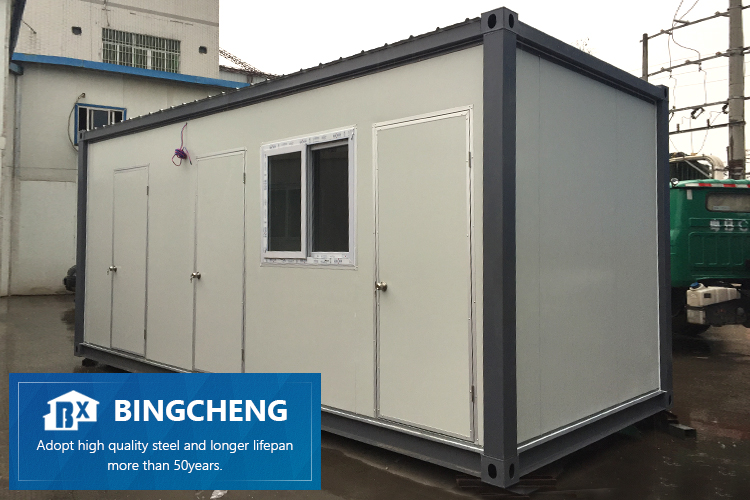 40 feet flat pack prefab container home flat-pack modern container home kit 40ft Container Living House