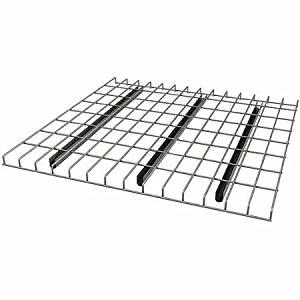 """Pallet Rack Wire Decking, 52"""" x 42"""", Silver"""