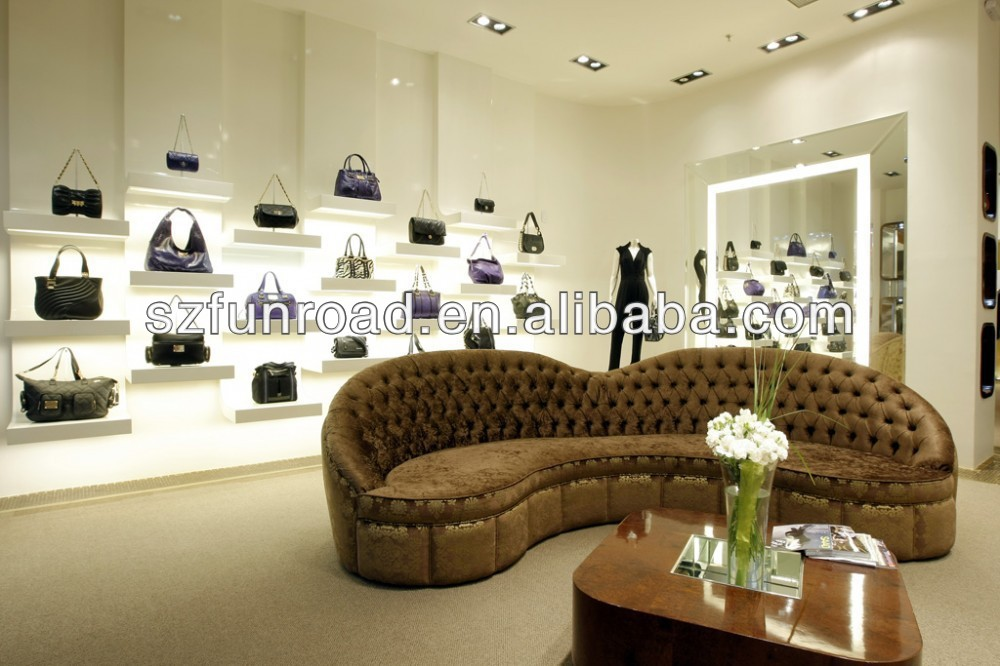 Modern Bag Showcase For Bags Shop Interior Design,Retail Handbags Store,Display  Racks Kiosks From Shenzhen Factory - Buy Bags Display Showcase For Shop  Mall ...