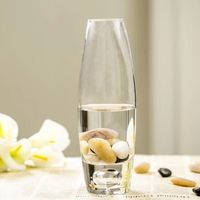 GV-040 Mini glass vase transparent clear glass vase for home decor