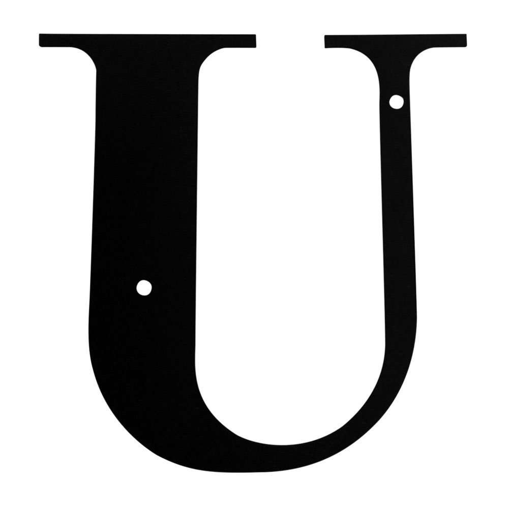 Get Quotations Wrought Iron House Letter U 18
