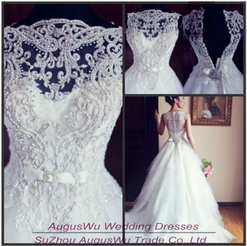 Aliexpress.com : Buy WWL503 Vintage Ball Gown Boat Neck