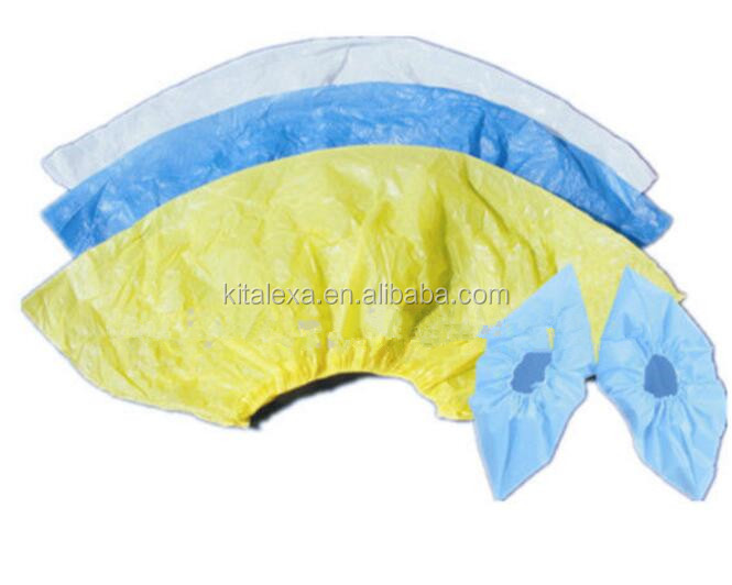 Disposable /Single-use non-woven or PE Cheap and High Quality shoe cover